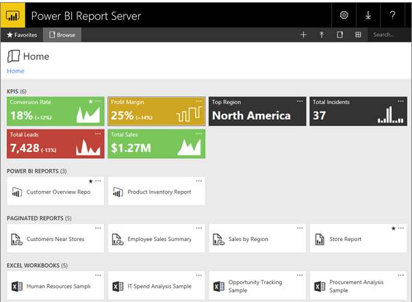 Bconcetps Power BI Report Server Configuration and Security Implementation