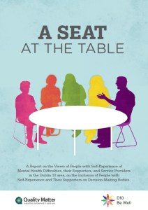 A seat at the table front cover