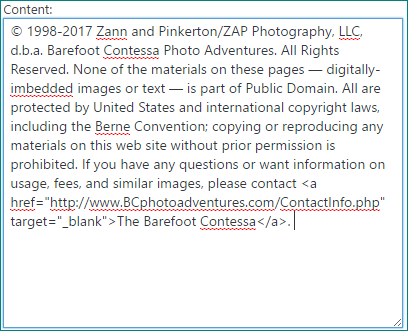 © 2017 Margo Taussig Pinkerton. All Rights Reserved. From Barefoot Contessa Photo Adventures. For usage and fees, please e-mail TBC (at) BCphotoadventures (dot) com or contact us at 310 Lafayette Drive, Hillsborough, NC 27278 or at 919-643-3036 before 9 p.m. east-coast time. photography copyright