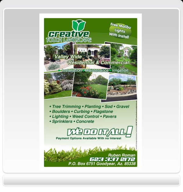 bl design landscaping business