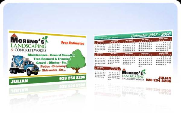 business cards pronto - moreno's