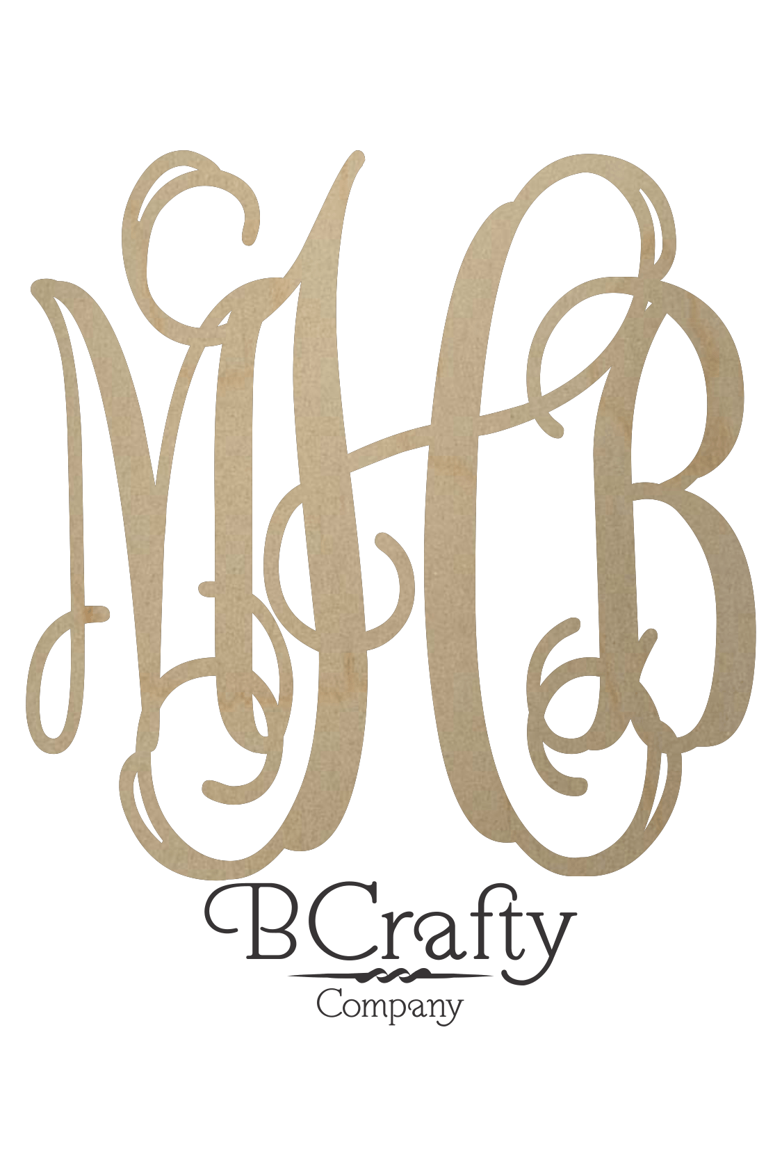 wooden monogram letters wholesale