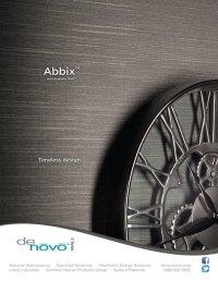 Advertisement Design - DeNovo Wall's Abbix | Bcreative