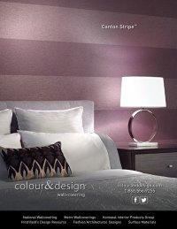 Ad Design for Colour & Design Product Canton Stripe | BCS