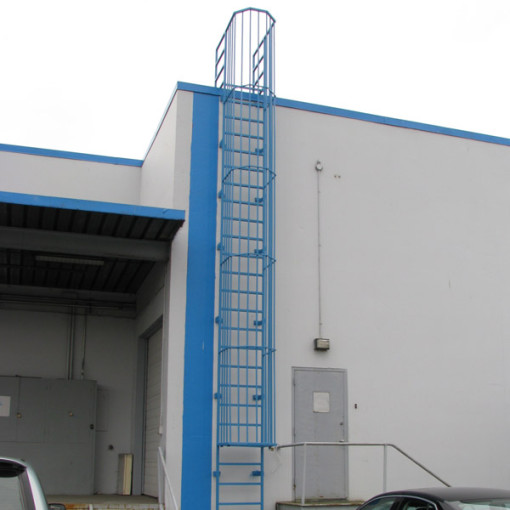 Roof Access Ladders  BC Site Service
