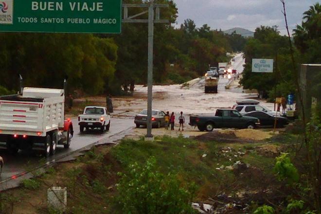 lluvia inundaciones todos santos