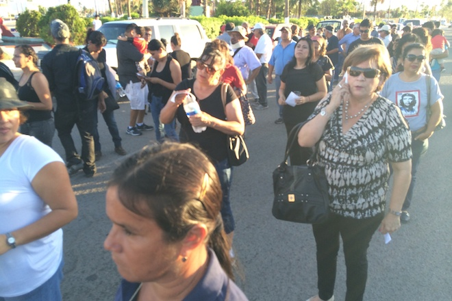 marcha ayotzinapa la paz 3