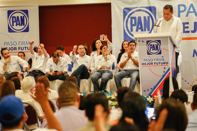 Carlos Mendoza senadores PAN 4