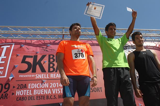 Alejandro Garcia mejor tiempo Varonil 2014