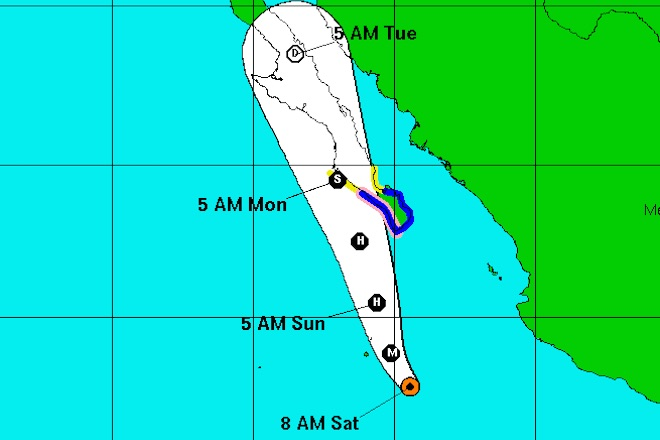 huracan blanca 3 trayectoria