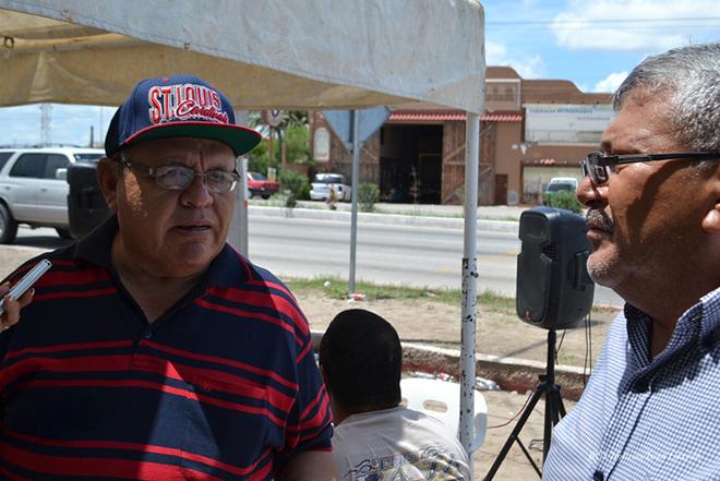 Francisco Javier Osuna Frias Felipe Lopez Sindicato de Burocratas