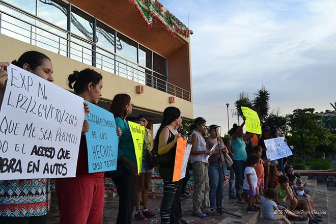 manifestacion tejero palacio de gobierno 2