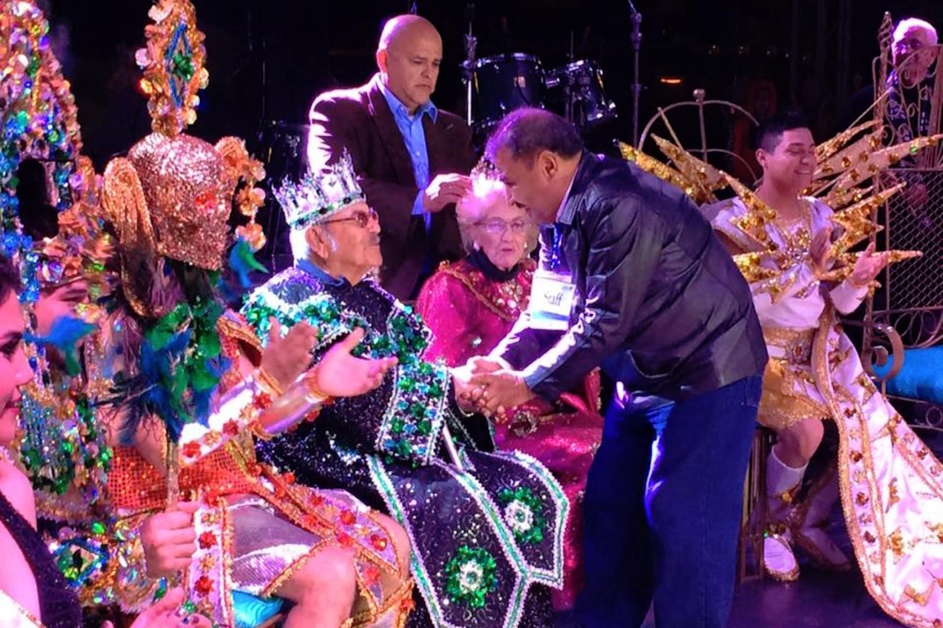reyes tercera edad carnaval la paz 2016