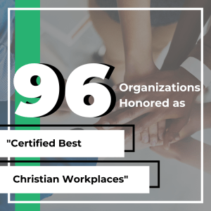 """96 Organizations Honored as """"Certified Best Christian"""