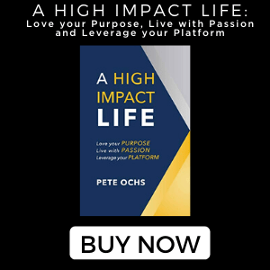pete ochs high impact life book