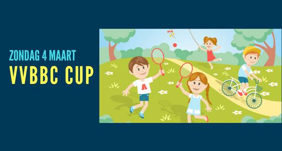 Badmintonstand VVBBC-cup