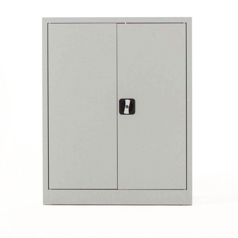 armoire basse portes battantes robust h 100 x l 80 x p