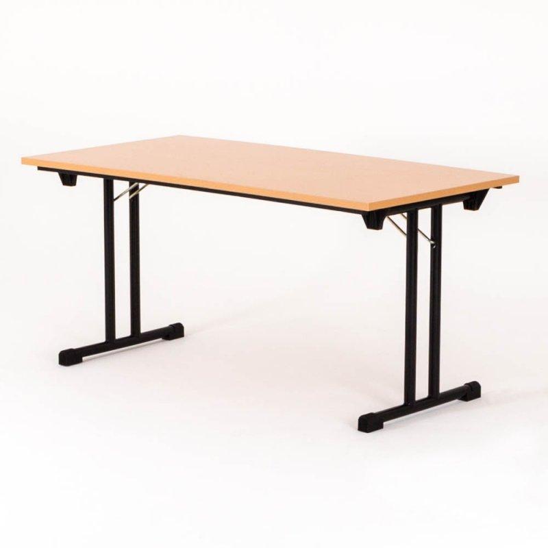 table pliante l 120 x p 80 cm plateau hetre piet