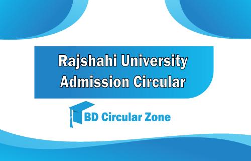 RU Admission Circular 2019-20