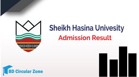 SHU Admission Result 2019-20