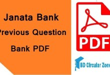 janata bank question bank