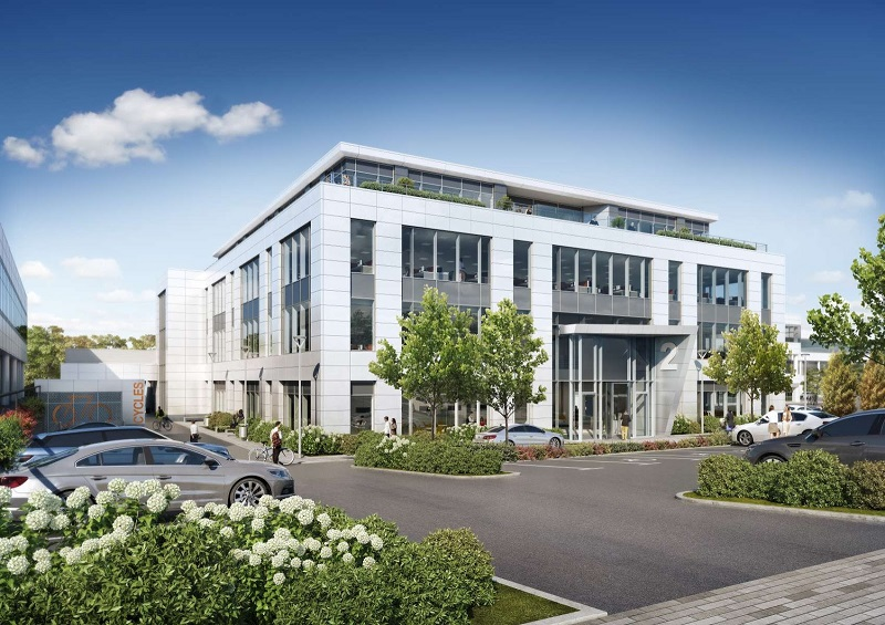 Lighting Controls Ltd. Contracted for 2 Guildford Business Park