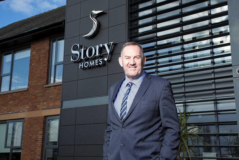 Story Homes Listed in The Sunday Times Track 100