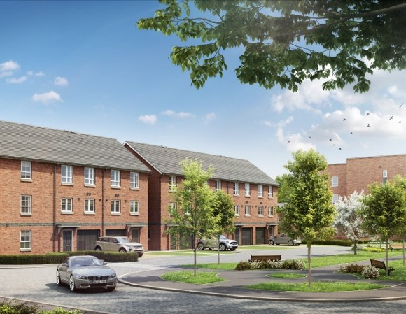 A luxury development of townhouses and apartments in the West End of Glasgow has officially sold out.