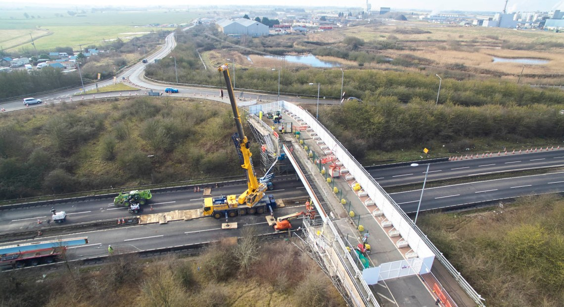 "GRAHAM's Highways Director, Dave Brown, has praised his team's ""technical expertise"" following the repair of two accident damaged bridges on the A47 in Norfolk."