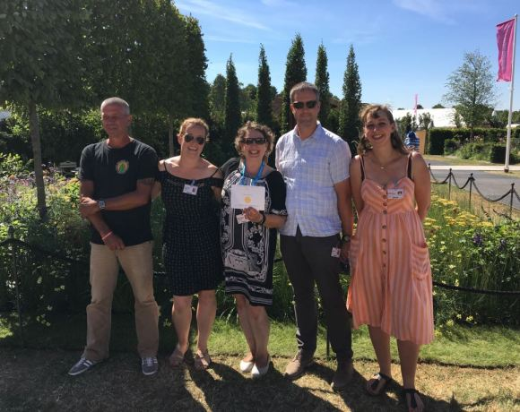 The British Association of Landscape Industries (BALI) and the Royal Horticultural Society's (RHS) 'Best of Both Worlds' show garden, built by a team of 23 students, has been awarded a prestigious Gold medal at RHS Hampton Court Palace Flower Show 2018.