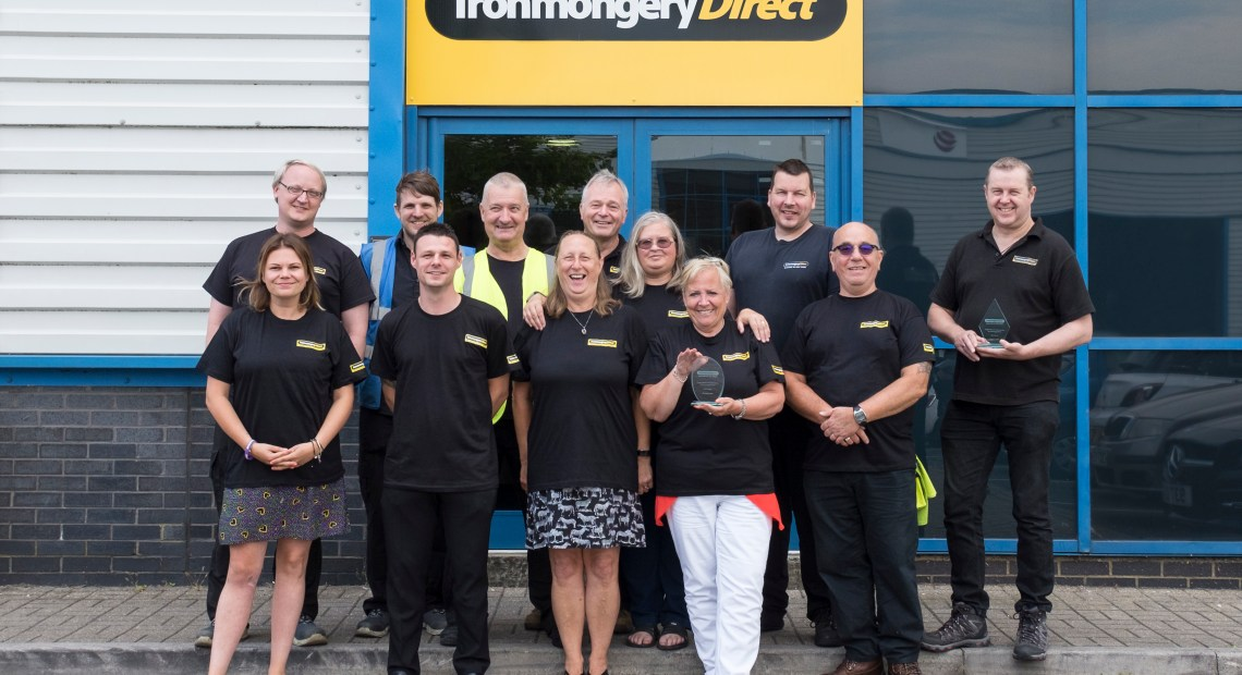 The UK's largest online ironmongery supplier, IronmongeryDirect, has been recognising some of its most long-serving staff.