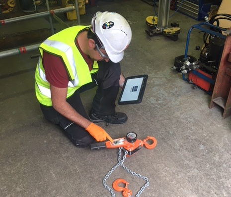One of Ireland's leading testing and inspection specialists for lifting equipment has switched to a new RFID system to improve safety and efficiency.