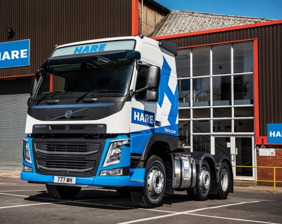 Bury, Lancashire-based steel fabrication specialists, Wm. Hare Group has taken delivery of its first-ever Volvo truck