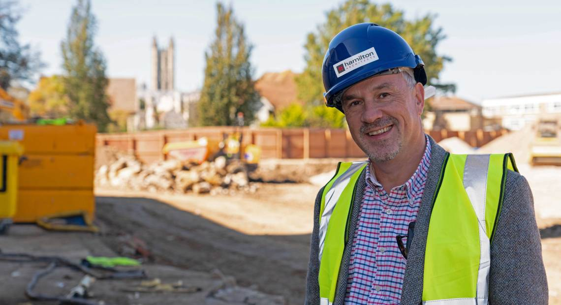 Northern Ireland architecture practice Hamilton Architects have landed the contract for the delivery of a £42m project which will help transform the City Campus for Canterbury Christ Church University.