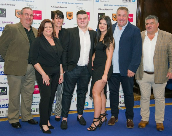 Hull-based TLJ Security Systems' electrical engineering apprentice, Lewis Wankiewicz, has won two awards at the Hull Training and Adult Education (HTAE) Awards 2018.