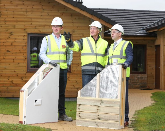 Leading rapid-build home manufacturer FastHouse has today announced the completion of its contract to provide and erect the timber frames for 466 lodges at the highly anticipated Center Parcs in Longford in under nine months