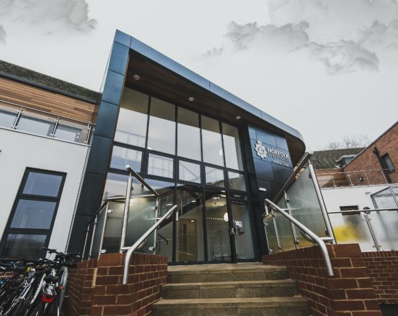 A POLICE station has been officially opened by His Royal Highness The Prince of Wales after being transformed into a contemporary build fit for 21st century policing.