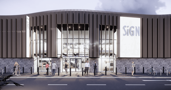 Stephen George + Partners LLP (SGP) is celebrating planning success for its new build 91,000 sqft retail park in Ashford, Kent.
