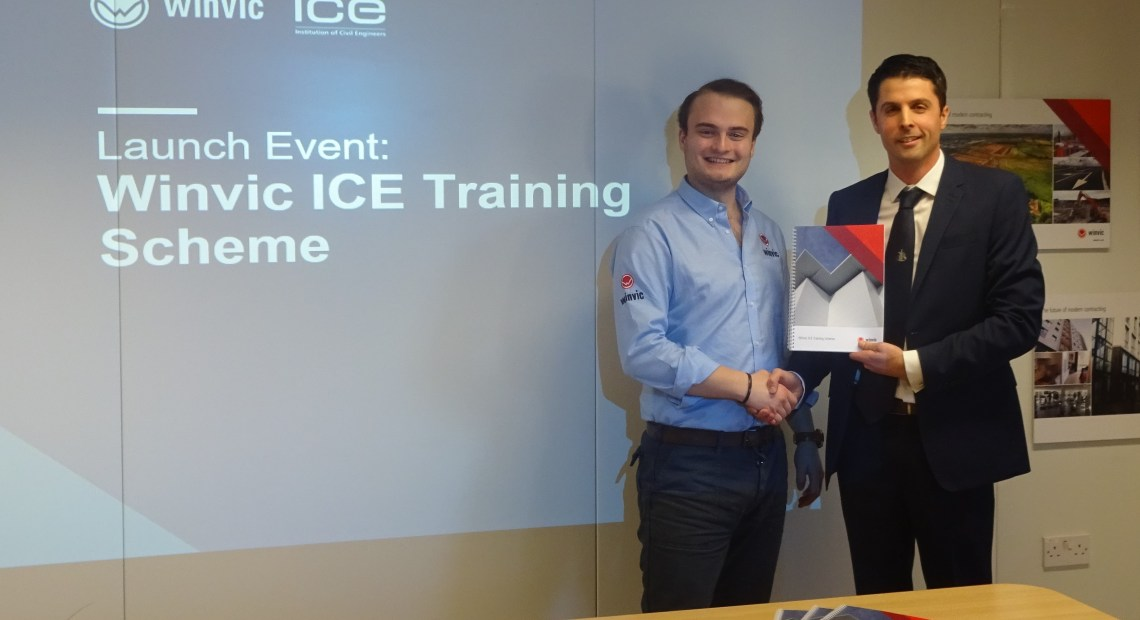 Multidisciplinary main contractor, Winvic Construction Ltd, announced its partnership with the Institution of Civil Engineers (ICE) yesterday, to offer graduates a training programme in order to gain the specialist skills, knowledge and professional approach required to practice as a civil engineer.
