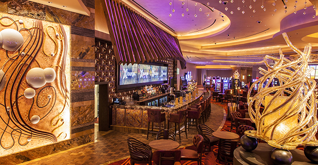 This is actualized through clever casino planning and design.