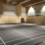 Gaia Provides Floor Solution to Sports Facility