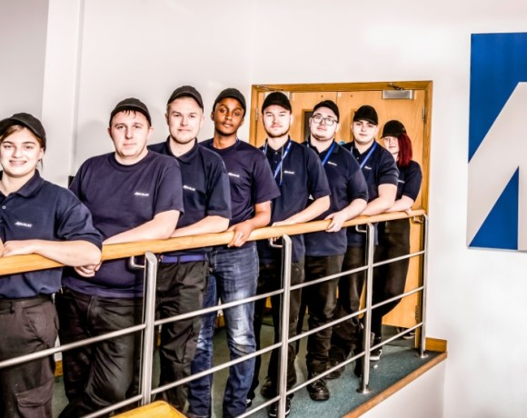Mecalac Construction Equipment UK Ltd has welcomed nine new apprentices to its Coventry manufacturing facility.