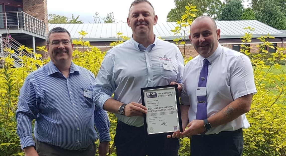 Hamilton-based Platinum Facilities Maintenance which employs twelve people in the Lanarkshire town and carries out work throughout the UK