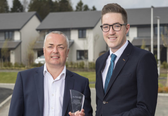 North-East Housebuilder Receives Special Award