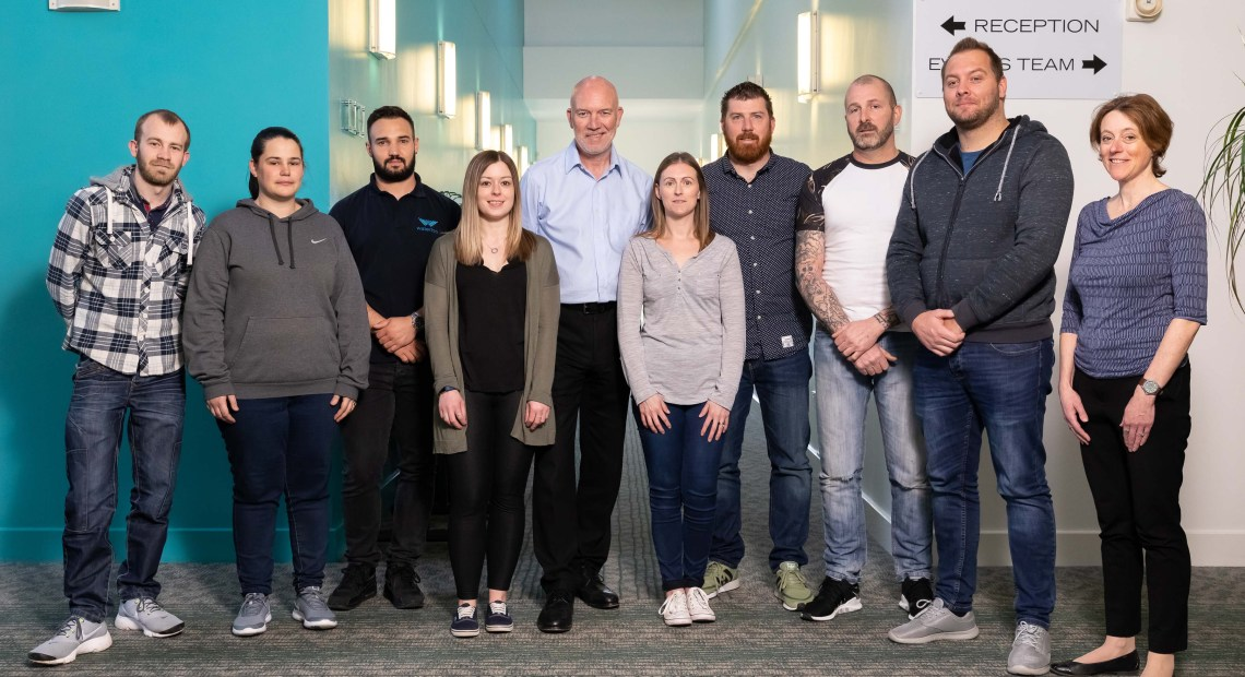 Waterloo Air Products plc is investing in an 18-month professional development programme for a group of employees from all disciplines within the company.