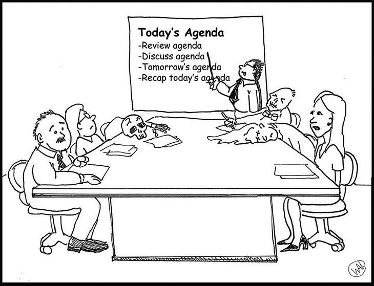 Good design alone won't eradicate mindless meetings