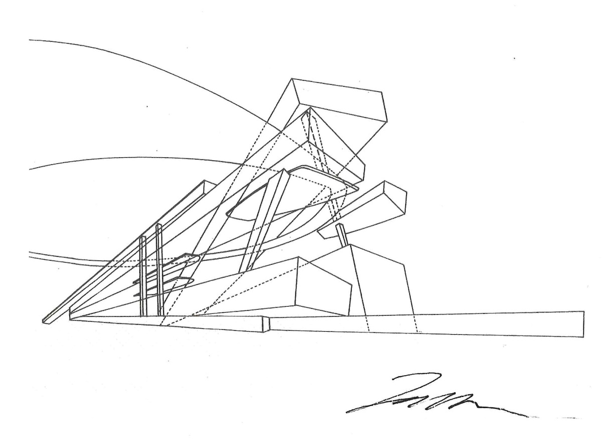 Starchitects' napkin sketches raise thousands for San