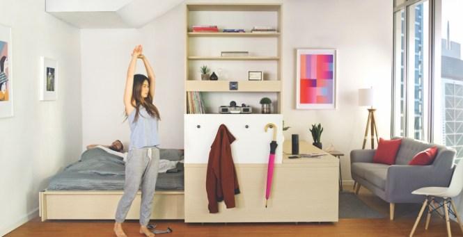 Robotic Interiors How To Make A Studio Apartment Feel As