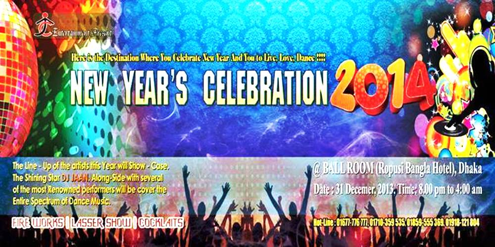 JTC EVENT PRESENTS NEW YEAR'S CELEBRATION 2014