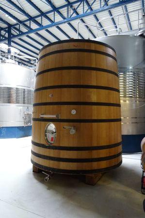 Deposito de madera para los grandes vinos!!!